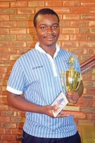 Bonakele Witbooi is the top learner in Ikageng.   Photo: Selogile Leshage