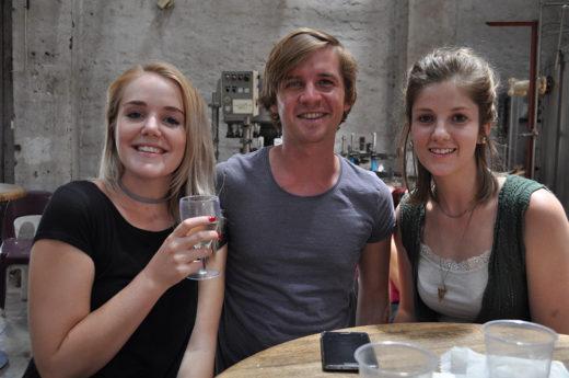 Jana Lotter, Jaco Fourie en Hermien van Heerden.
