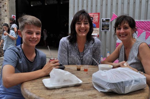 Gerrit en Maria Muntingh en Marinda Neethling. Foto's: Marianke Saayman