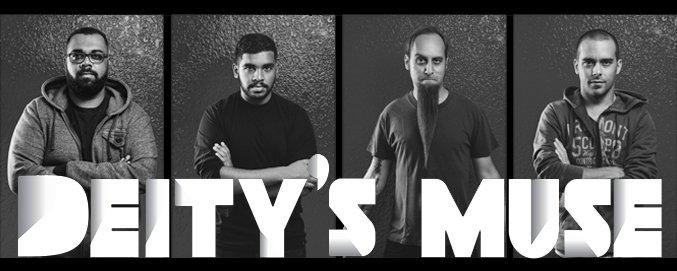 Deity's Muse. From left to right: Shashan Pillay, Yokim Pillay, Wayne Boucher and Albin Boucher.
