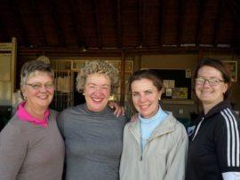 Loraine Liebenberg, Louisa Grimbeek, Susan Fouche en Elzane van de Wath.