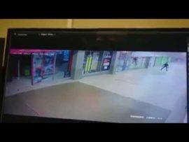 VIDEO: Armed robbery at Riverwalk