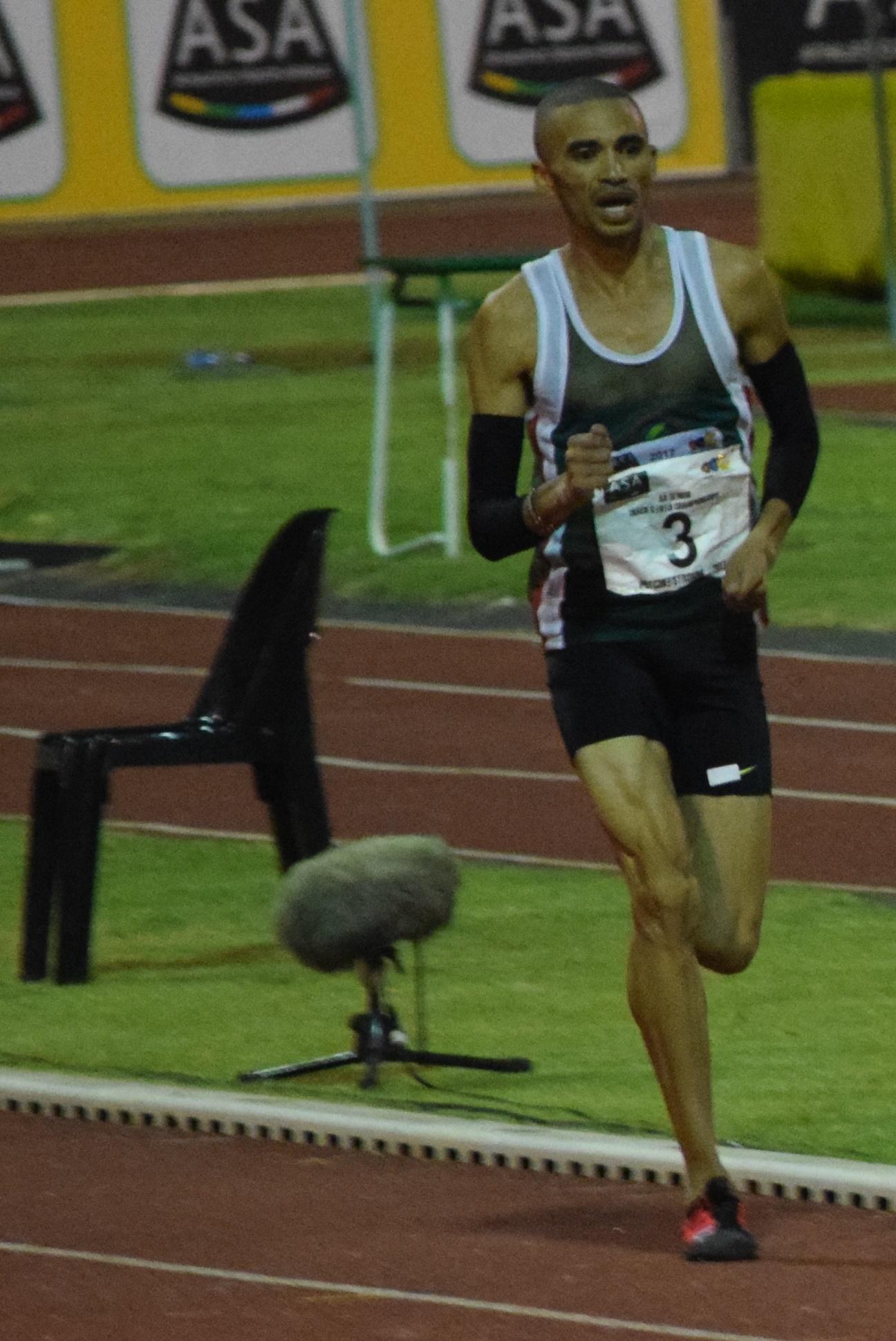 Elroy Gelant is still the SA 10km champion
