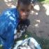 Die verdagte is vasgetrek en gearresteer. Foto: Mooirivier Beskerming