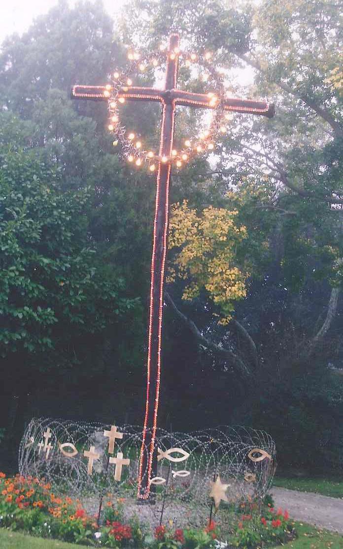 Die kruis in al sy glorie.