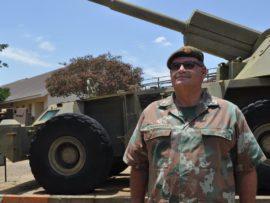 Colonel Dawid Schoonwinkel is proud of their unit being the best in the SA army. Photo: Marianke Saayman.