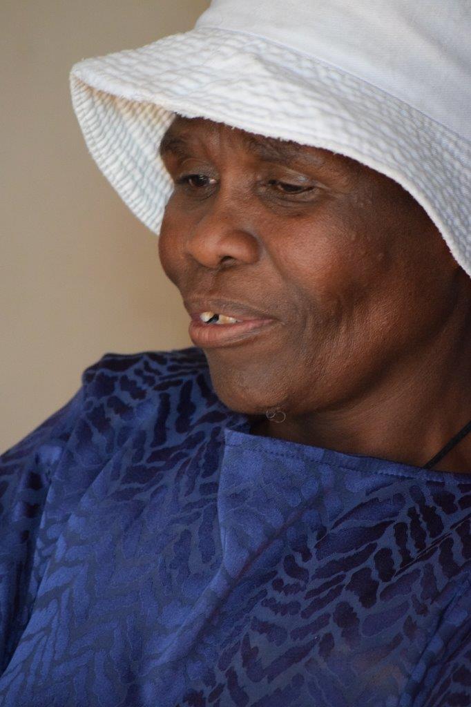 Martha's daughter Miriam Sehawa. Photo: Dustin Wetdewich/Potchefstroom Herald