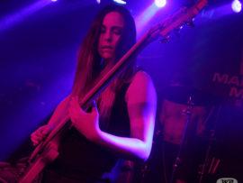 Bassist of Riddlebreak, Roushan van Niekerk.