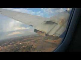 VIDEO: Laaste oomblikke tydens vliegtuigongeluk