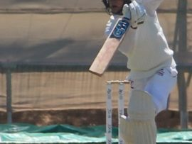 Richardt Frenz scored a fantastic 107 (118) against Ikageng this past Saturday in the North West Premier League.