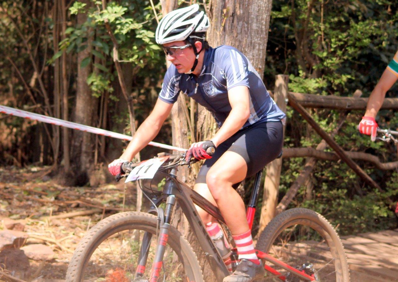 Brendan van Eeden rode to a national victory at the Spur MTB National Interschools final at Bekker School.