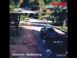 VIDEO: Aanrander vas na jaagtog in Oewersig