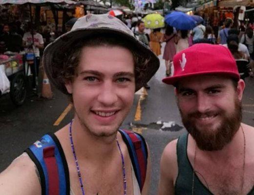 Benjamin Jooste (links) en Jason Luker is sedert 2007 beste vriende. Foto: Verskaf
