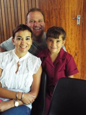 Jackie, Marinda en Monique Gerber, Emfulenipark