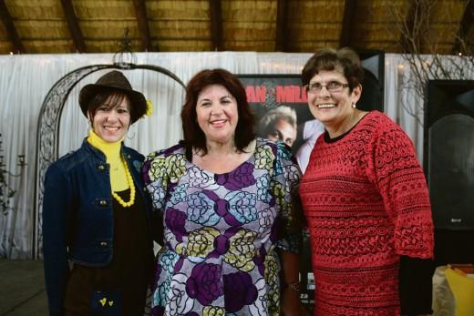 Santie van Tonder, Elsabé Aldrich en dr. Amanda Lombard (hoof van Eureka Skool).