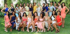 Miss South Africa 2016 Top 25 Semi-Finalists are, (top row from left) Marciel Hopkins, Deidre Engelbrecht, S'nethemba Mbatha, Elizabeth Molapo, Sarah Botes, Felicia Muwayi, Lizel Birkenstock, Loreal Magro, Cara Frew, Kabelo Mashiane, Saihania Naidoo, Sharon-Rose Khumalo, Zinhle Nkonyane, Ronette Chambers, Lee-Zanda Jonas. Bottom row: Shanice Smith, Sinovuyo Witbooi, Luyolo Mngonyama, Kerusha Kylie Govender, Tayla Skye Robinson, Schane Venter, Tumi Tlou, Mikaela Oosthuizen, Ntandoyenkosi Kunene and Reabetswe Sechoaro. Photo: Yolanda van der Stoep