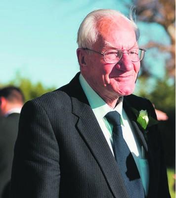 Mnr. Paul Swart (86) wat wreed in sy huis vermoor is.