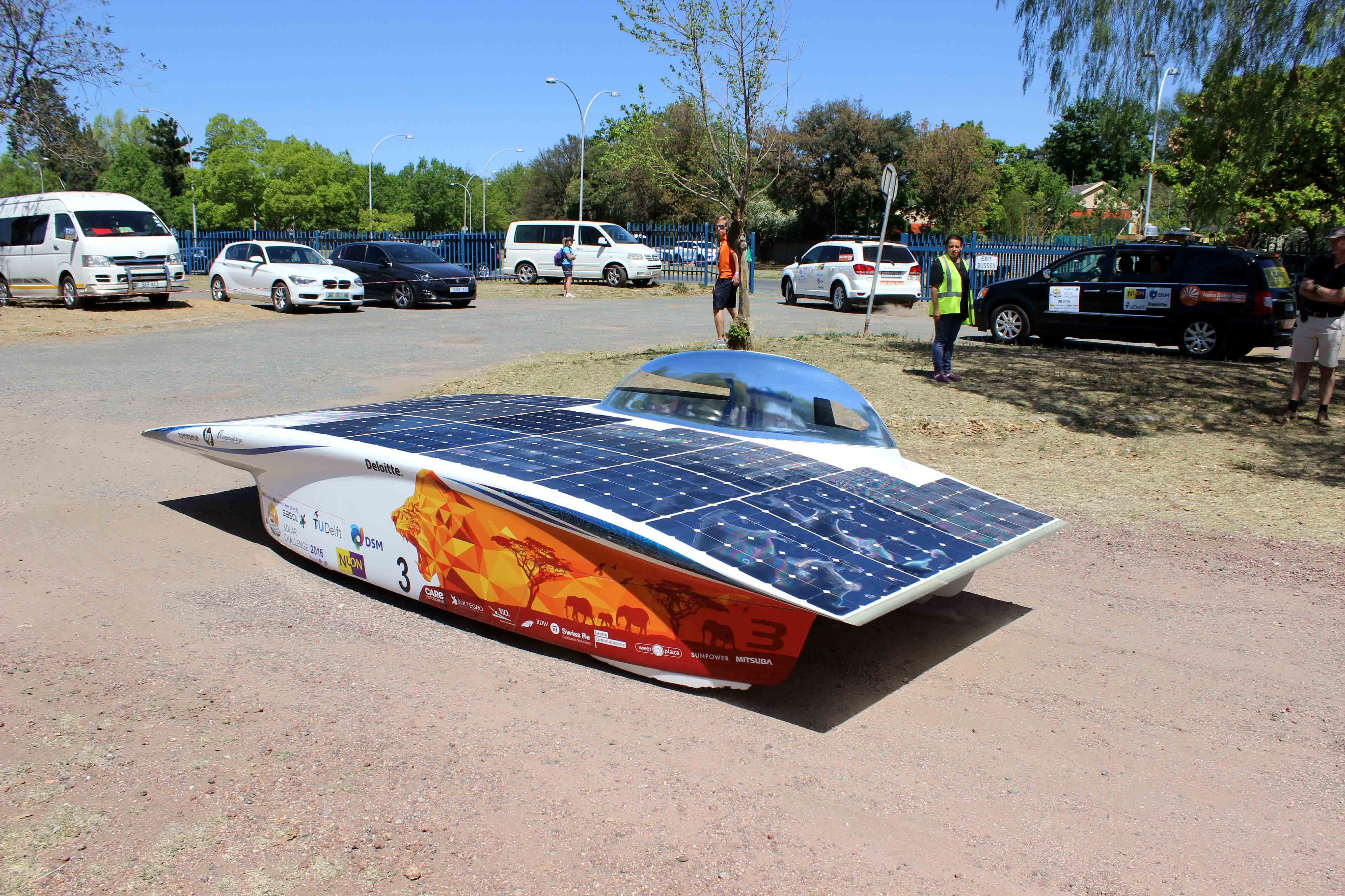 Solar cars crosses finish line as records tumble vaalweekblad