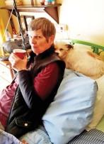 Wyle me. Godelieve Wells en haar honde-kind, Chanel.