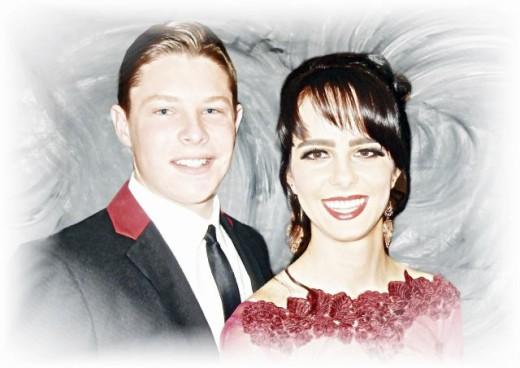 8. Isabel Stiglingh en Dylan Rheeder.
