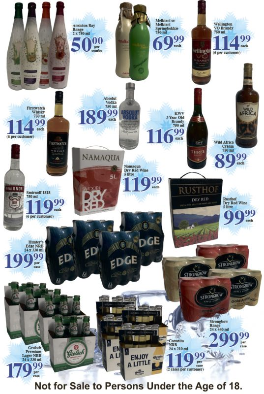 Model Bottle Store & Wine Cellar  Black Friday Deals (28-30