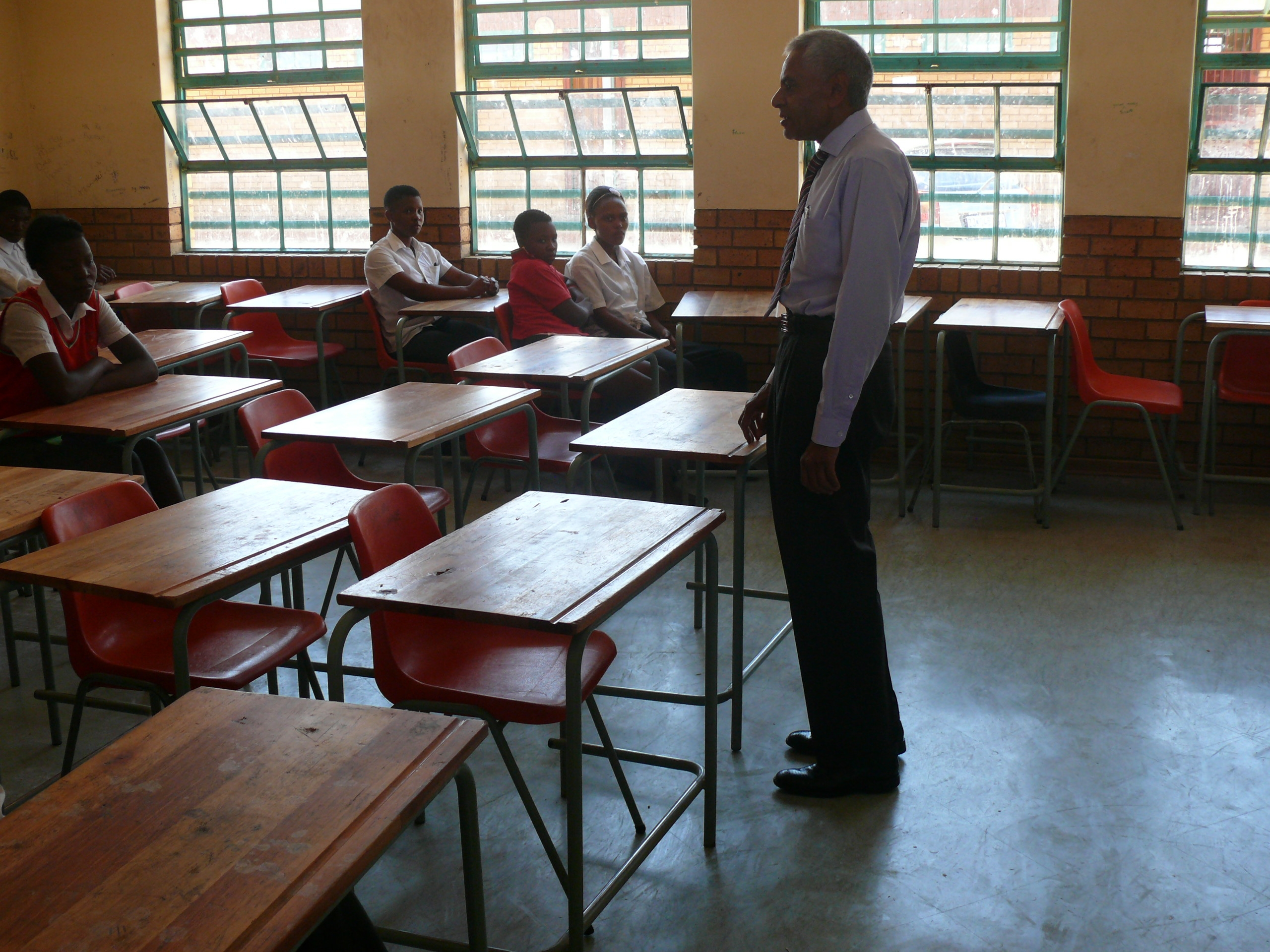 School Benefits From Solar Light Project Rising Sun Lenasia