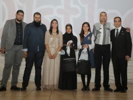 Left: Waseem Sirkhot, Mohamed Jassat, Farzeen Gaffoor, Homayra Essat, Raveena Vashi, Ismail Moola and Dr Ridwaan Mia