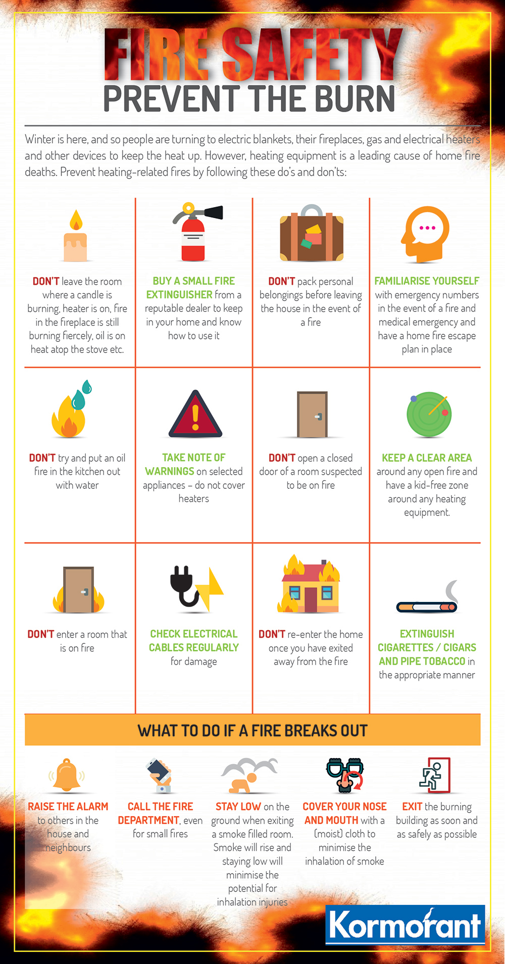 Safety tips to prevent house fire | Rising Sun Lenasia