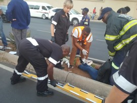 Selwyn Siera is seen wearing his orange vest. Picture source: Facebook
