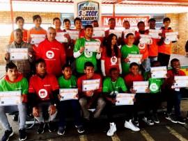 Lenasia Soccer Academy  students