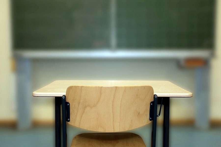 school desk, classroom, topaz