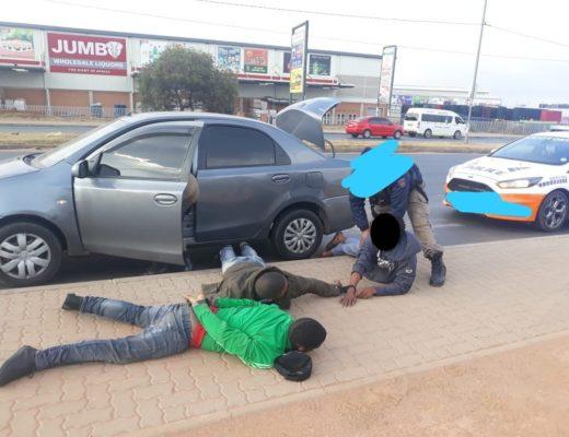Three suspects nabbed with explosives | Rising Sun Lenasia