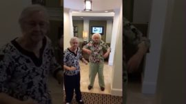 Me and my friend when we get old and like the same music