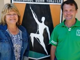 Theresa Becker en Jaap de Beer is sedert 1 Mei as adjunkhoofde by Hoërskool John Vorster aangestel.