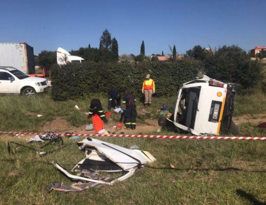 Minibus accident on N3 near Heidelberg leaves three people fatally