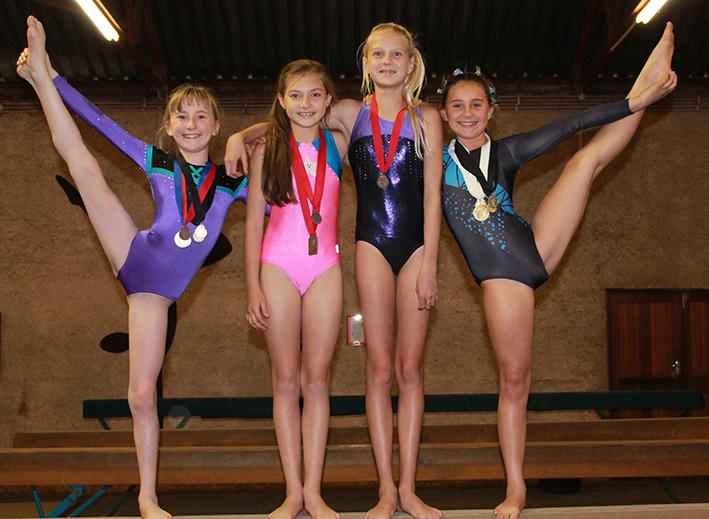 Nigel Gymnastics Club qualified for their Eastern Gauteng colours