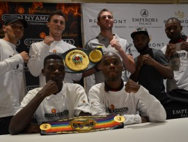 Golden Gloves Promotions boxers to feature at their tournaments.