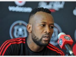 BIG TASK: Mpho Makola of Orlando Pirates said its a must win for them.