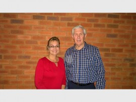 OPENING IN 2017: Karen van den Oever (the operational director of Revival City College) and pastor Hannes van Zyl (spiritual director of Revival City College).
