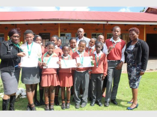 Tshabalala Primary are 2017 Spelling Bee top achievers   Kathorus Mail