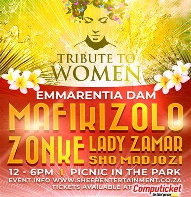 WIN tickets to women's tribute concert at Emmarentia Dam