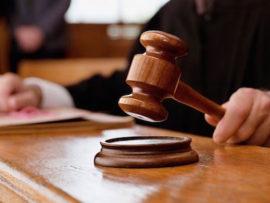 court judgement - gavel