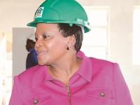 Gauteng Premier Nomvula Mokonyane.