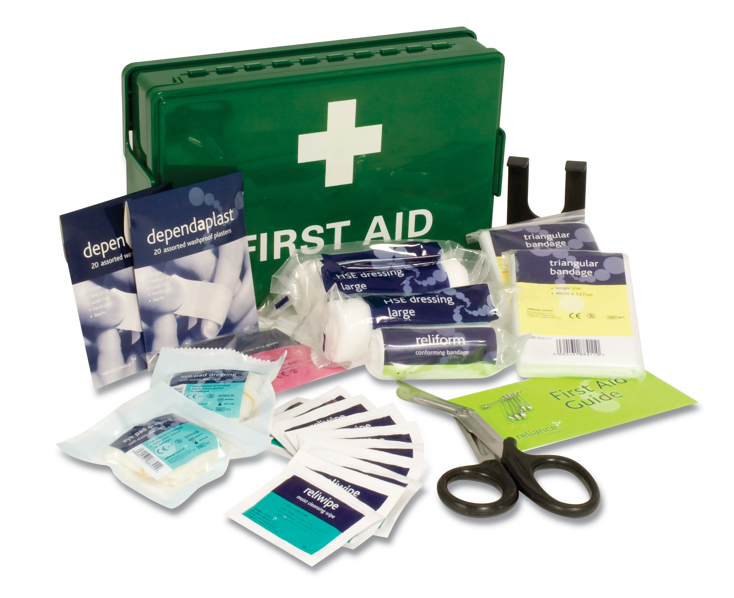How to pack a first aid kit krugersdorp news for First aid kits for restaurant kitchens