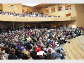 Centenary Hall was filled to the brim with the Mogale City community.