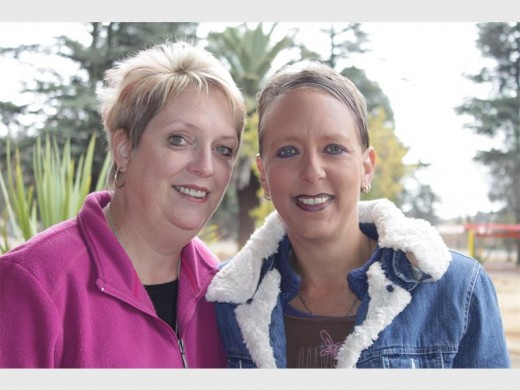 Melodie van Brakel, founder and manager of The Cradle of Hope and Olga Bender, who said she could not have gotten back her girls if it were not for Melodie.