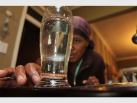 Tracey Gurnell wonders what the strange black particles in her drinking water could be.