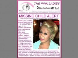 Pink Ladies alert for missing teen.
