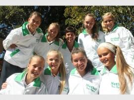 Noordskool se eerste netbalspan is Monica Pieters, Chereze Venter, Cayla-Lee Jacobsz, Megan Botha, Eldrè Jonker, Maryke Nel, La Shanè Swanepoel en Lara Ferreira met afrigter Elmarie van der Walt.