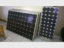 Solar panels to the value of R60 000 were stolen.
